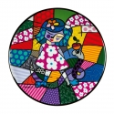 Talerz ścienny Girl with Snake 36cm - Romero Britto