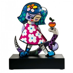 Figura Girl with Snake 37cm - Romero Britto
