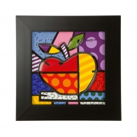 Obraz porcelanowyBig Apple 32cm - Romero Britto