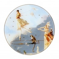 Patera szklana 30cm - Tuesday's Child - Michael Parkes, 67020321 Goebel sklep internetowy