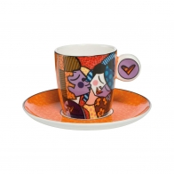 Filiżanka 0,1l Kissing Romero Britto 66452021 Goebel