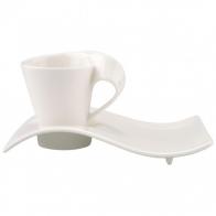 Filiżanka do espresso ze spodkiem 0,08 l New Wave Sklep Villeroy&Boch 10-2484-1419