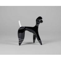Figurka Pudel - czarny
