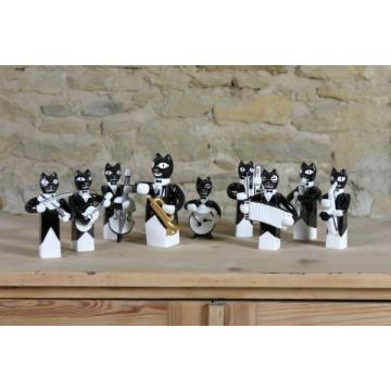 Figurki Orkiestra kocia