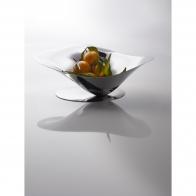 Misa na owoce srebrna 40 x 30 x 15 cm - Petalo Casa Bugatti 21-PETALO