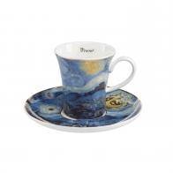 Filiżanka do espresso 8 cm - Gwieździsta Noc - Vincent van Gogh Goebel 67011591