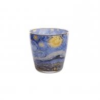 Świecznik - Tealight 9 cm - Gwieździsta Noc - Vincent van Gogh Goebel 67031621