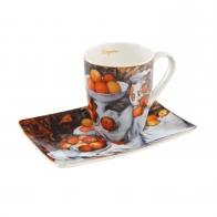 Kubek 12 cm z podstawka Artist Mug - Still Life I - Paul Cézanne Goebel 67110011