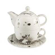 Zestaw Tea For One 15 cm 0,35 l - Carota con amici Rosina Wachtmeister Goebel 66860351