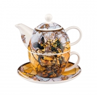Zestaw Tea For One 15 cm 0,35 l - Evening Flowers II Cloude Monet Goebel 67013521