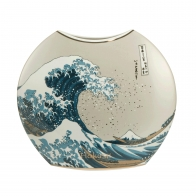 Wazon 30 cm Wielka Fala - Katsushika Hokusai Goebel 665394781