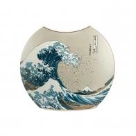 Wazon 20 cm Wielka Fala - Katsushika Hokusai Goebel 66539481