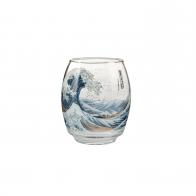 Świecznik - tealight 13,5 cm Wielka Fala - Katsushika Hokusai Goebel 66903671
