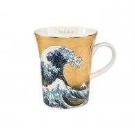 Kubek 11 cm Wielka Fala, Great Wave - Katsushika Hokusai Goebel 67011141