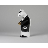 Pan Szczurek - czarny ze złotą kulą
