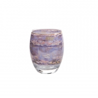 Świecznik - tealight 10 cm - Evening Flowers II Cloude Monet Goebel 66-927-19-1