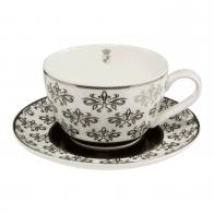 Filiżanka do herbaty 0,25 l Kwiatowa - Chateau - Princess Maja von Hohenzollern Goebel 27-050-07-1
