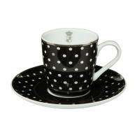 Filiżanka do espresso 0,1 l Paski - Chateau - Princess Maja von Hohenzollern Goebel 27-050-12-1