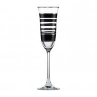 Kieliszek do szampana 25 cm Paski - Chateau - Princess Maja von Hohenzollern Goebel 27-050-17-1