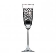 Kieliszek do szampana 25 cm Diamenty - Chateau - Princess Maja von Hohenzollern Goebel 27-050-18-1