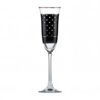 Kieliszek do szampana 25 cm Kropki - Chateau - Princess Maja von Hohenzollern Goebel 27-050-20-1