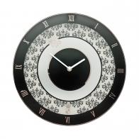 Zegar ścienny 30,5 cm Kwiatowy - Chateau - Princess Maja von Hohenzollern Goebel 27-050-22-1