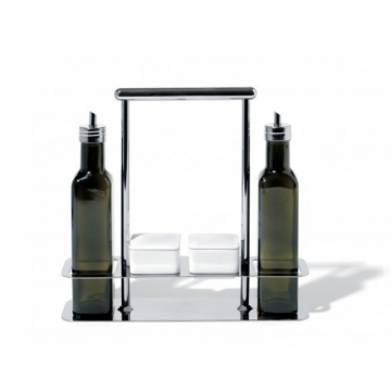 Zestaw na przyprawy - olej i ocet Trattore - Andrea Branzi
