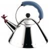 Czajnik 2 l niebieski z gwizdkiem ptaka - Michael Graves Alessi 9093