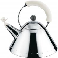Czajnik 1,4 l biały z gwizdkiem ptaka - Michael Graves Alessi 9093 W