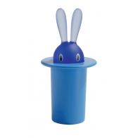 Pojemnik na wykałaczki Magic Bunny niebieski - Stefano Giovannoni Alessi ASG16 AZ