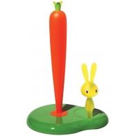 Stojak na ręcznik papierowy Bunny & Carrot - Stefano Giovannoni Alessi ASG42 GR