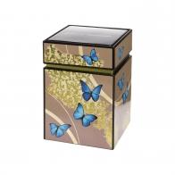 Pudełko na herbatę 11cm Niebieskie Motyle Joanna Charlotte 26150521 Goebel