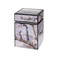 Pudełko na herbatę 11cm Van Gogha - Drzewo Migdałowe Srebrne 67065071 Goebel