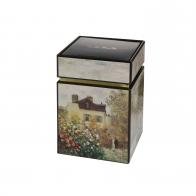 Pudełko na herbatę 11cm Dom Artysty Cloude Monet Goebel 67065051