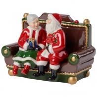 Św. Mikołaj z żoną z pozytywką Christmas Toy Villeroy & Boch 14-8327-6628
