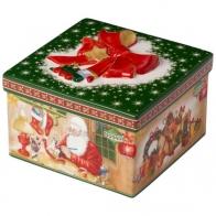 Warsztat Św. Mikołaja pudełko na ciastka Christmas Toy Villeroy & Boch 14-8327-6623