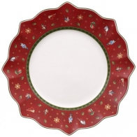 Talerz płaski czerwony 29 cm - Toy's Delight Villeroy & Boch 14-8585-2620