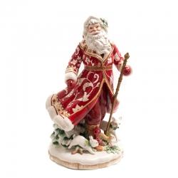 Św. Mikołaj w czerwonym płaszczu 47 cm - Fitz and Floyd