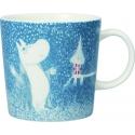 Kubek porcelanowy Muminki Light Snowfall