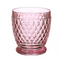 Szklanka do wody i koktajli różowa 10 cm - Boston Villeroy & Boch 11-7309-1414