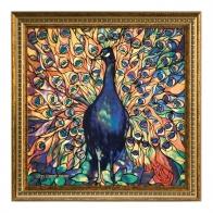 Obraz Paw 59 x 59 cm - Louis Comfort Tiffany Goebel 66-518-13-1