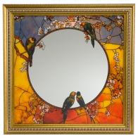 Lustro Papużki 60 x 60 cm - Louis Comfort Tiffany Goebel 67-002-04-1