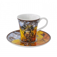 Filiżanka do espresso Papużki 7 cm - Louis Comfort Tiffany Goebel 67-011-51-1