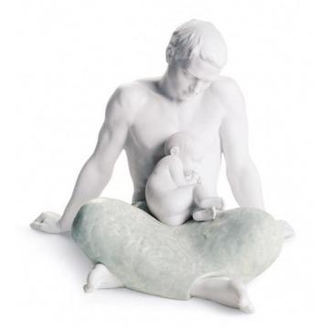 Figura - Ojciec z dzieckiem