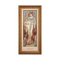Obraz Jesień - Cztery Pory Roku - Alfons Mucha, 66-508-58-1, Goebel