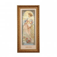 Obraz Lato - Cztery Pory Roku - Alfons Mucha, 66-508-57-1, Goebel