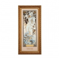 Obraz Zima - Cztery Pory Roku - Alfons Mucha, 66-508-59-1, Goebel