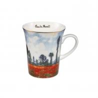 Kubek z porcelany 11 cm Pole Maków - Claude Monet 670113671 Goebel