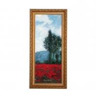 Obraz Pole Maków III 57 x 27 cm - Claude Monet 66535231 Goebel