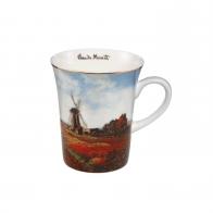 Kubek z porcelany 11 cm Pole Tulipanów - Claude Monet 67011351 Goebel